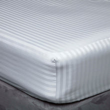 Load image into Gallery viewer, Hotel Suite 500TC Egyptian Cotton Fitted Sheet - Left Hand Bedshape