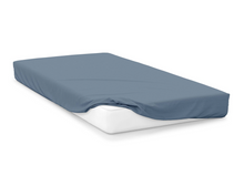 Load image into Gallery viewer, storm  right hand bed shape egyptian cotton fitted sheet