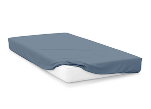 storm  right hand bed shape egyptian cotton fitted sheet