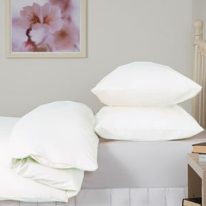 White Double Duvet Set