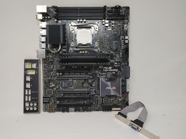 Asus X99 WS/IPMI with i7-6900k (DDR4!)