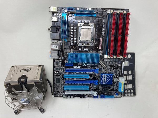 Asus P6X58D-Premium with i7-990x and 6 gb ram