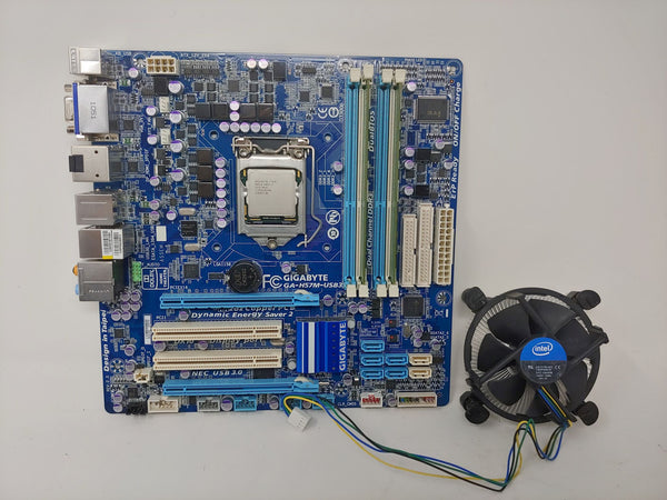 Gigabyte GA-H57N-US with i7-870