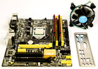Asus B85M-3 with i3-4170 and 8gb ram