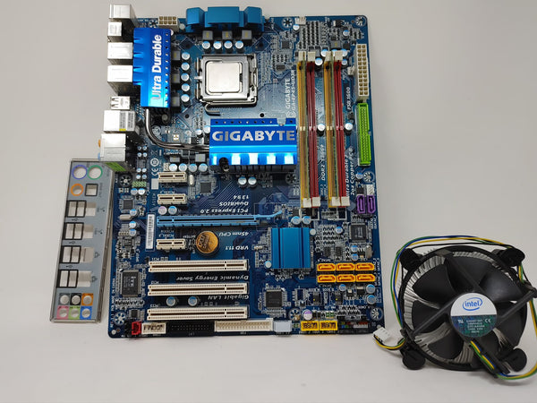 Gigabyte GA-EP45-UD3R Core 2 Quad build kit with C2Q q8200 and 9500gt