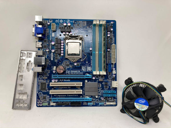 Gigabyte GA-B75M-D3H with i5 2500 and 4 gb ram