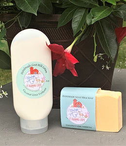 Nurse To Farm Girl - Goat Milk Soaps & Lotions - Coconut Lime Verbena