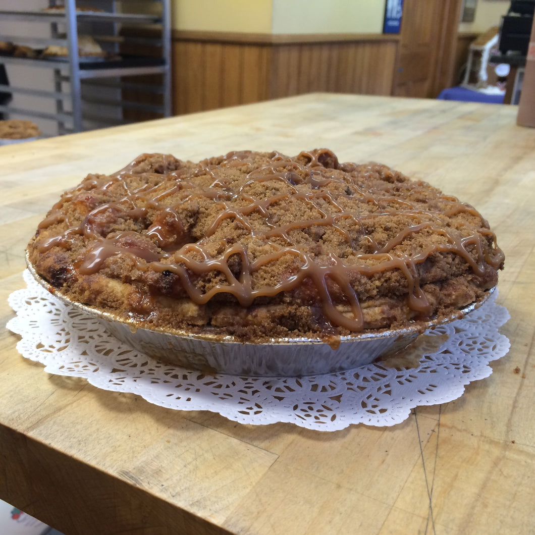 Michele's Pies - Apple Caramel Crumb