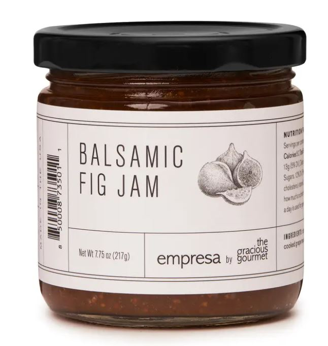 The Gracious Gourmet - Balsamic Fig Jam