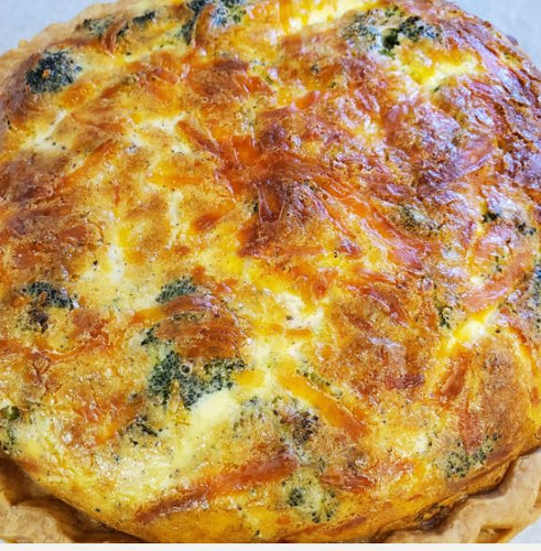 Carrot Top Kitchens - Broccoli & Cheese Quiche