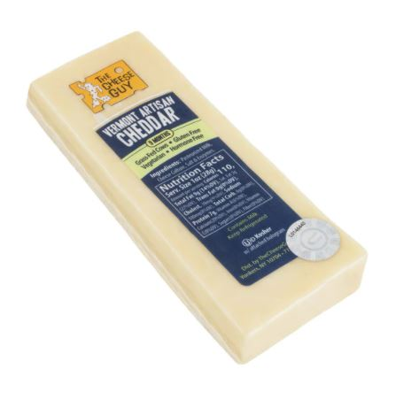 The Cheese Guy - Raw Milk Vermont Artisan Cheddar