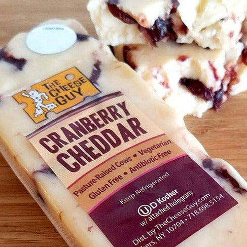 The Cheese Guy - Cheddar w/Cranberries Raw Milk