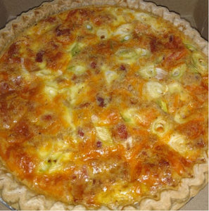 Carrot Top Kitchens - Crab, Cheese & Shallot Quiche
