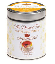 Load image into Gallery viewer, Simpson & Vail - Dessert Tea - Creme Brulee Black