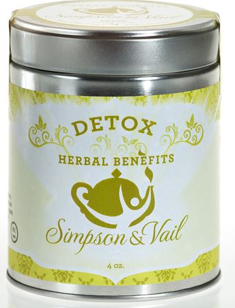 Simpson & Vail - Herbal Benefits Tisane - Detox