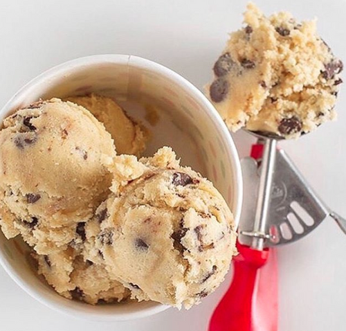 CT Cookie Company - Edible Chocolate Chip Cookie Dough Pint