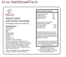 Load image into Gallery viewer, Paul's Custom Pet Food - Hunter's Beef with Greens Complete