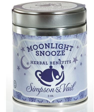 Simpson & Vail - Herbal Benefits Tisane - Moonlight Snooze