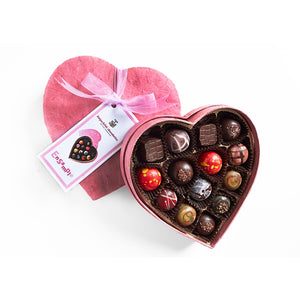Fritz Knipschildt Chocolatier - Small Heart Signature Collection