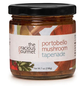 The Gracious Gourmet - Portobello Mushroom Tapenade