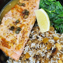 Load image into Gallery viewer, Carrot Top Kitchens - Single Serve - Fresh Grilled Salmon