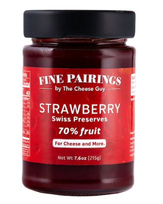 The Cheese Guy - Strawberry Swiss Preserves