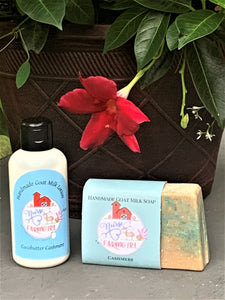 Nurse To Farm Girl - Goat Milk Soaps & Lotions - Cocobutter Cashmere
