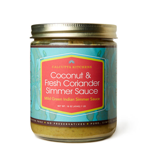 Calcutta Kitchens - Coconut and Fresh Coriander Simmer Sauce