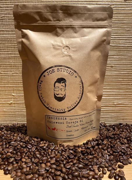 Joe Studio - 5 lb. Bag -  Indonesia Sulawesi Toraja G1 2020 - Dark Roast