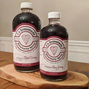 J's Homemade - Homemade Elderberry Syrup