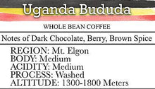 Load image into Gallery viewer, Joe Studio - 5 lb. Bag - Uganda Mt. Elgon Bududa - Dark Roast