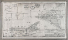 Avro Arrow Blueprint - NicheDecor