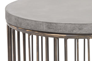 Sargon Round End Table