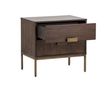 Jade Brass Nightstand - NicheDecor
