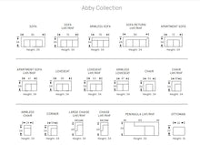 ABBY SOFA/SECTIONAL