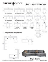 Bronx Sofa/Sectional - NicheDecor