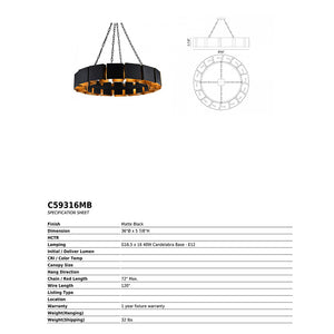 Mattone Light Fixture - NicheDecor