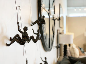 Climbing Man (Resin) - NicheDecor