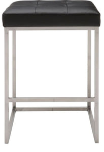 Chi Counter Stool-Silver Base - NicheDecor