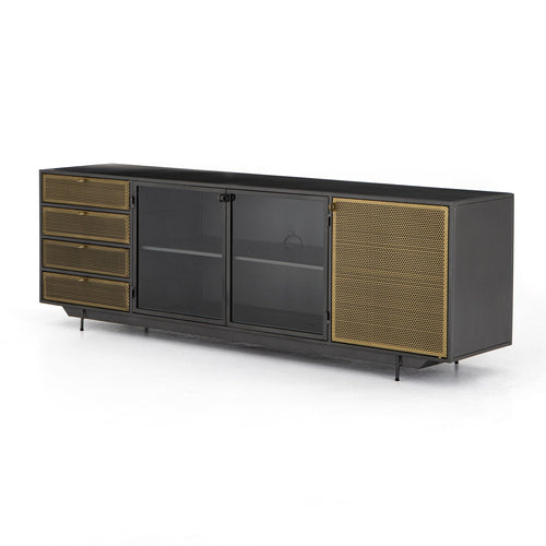 Hendrick Media Unit - NicheDecor