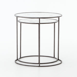 Iron & Glass Cylinder - Niche Decor