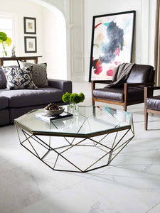 Geometric Coffee Table - NicheDecor