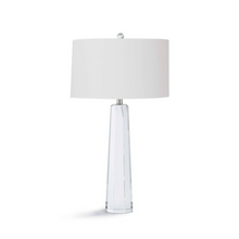 CRYSTAL HEX TABLE LAMP