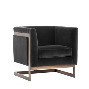 SOHO ARMCHAIR (BRASS)