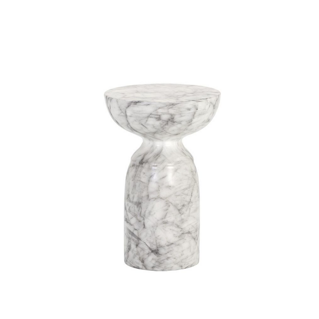 GOYA ACCENT TABLE (MARBLED)