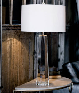 Crystal Hex Table Lamp - NicheDecor