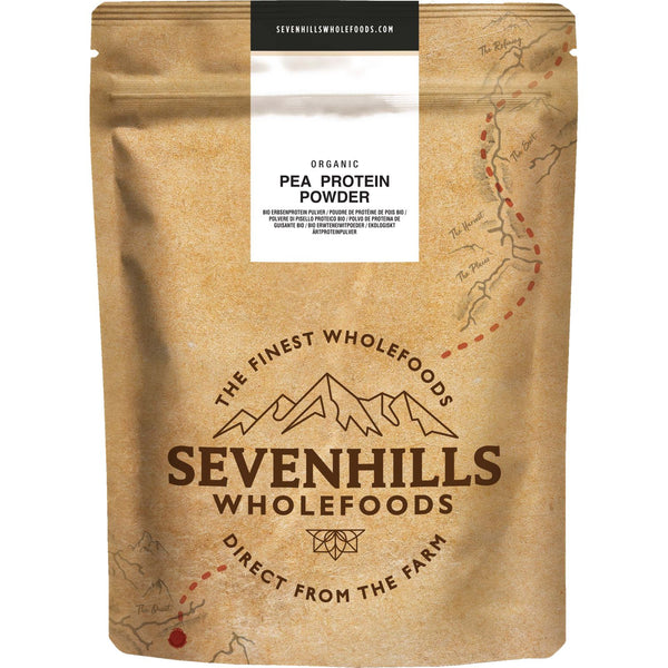 Sevenhills Wholefoods Organic Pea Protein Powder - Front