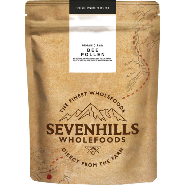 Sevenhills Wholefoods Organic Raw Bee Pollen - Front
