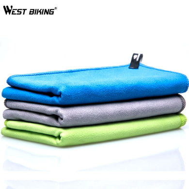 WEST BIKING Quick Dry Towel Yoga Swimming Absorb Sweat Towel Drying Quick-drying Swimming Hiking Climbing Soft Cycling Towel