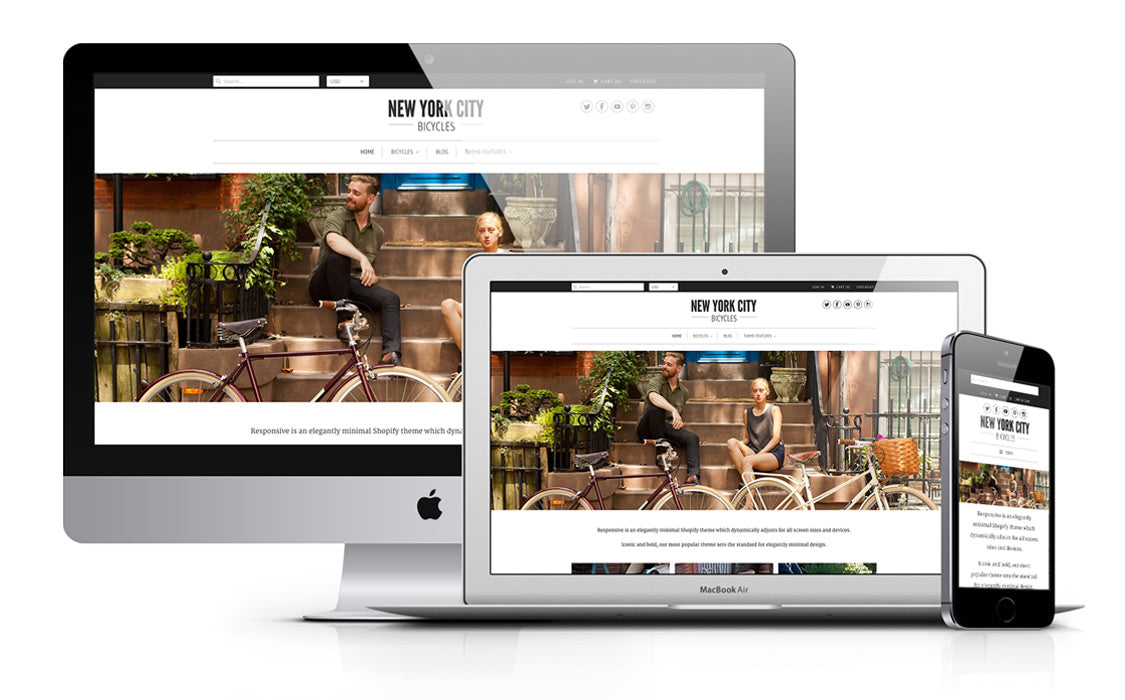 Responsive Shopify Theme - New York